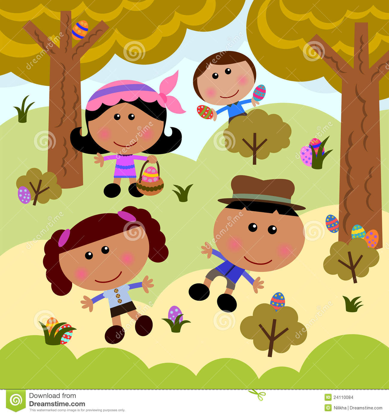 Easter Egg Hunt Stock Images - Image: 24110084 banner free library