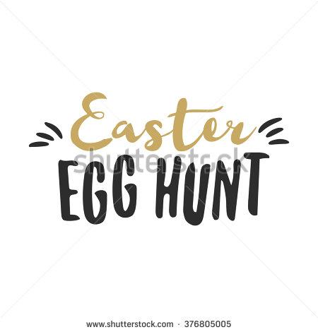 Easter egg hunt sign clipart black and white download Easter Egg Hunt Stock Images, Royalty-Free Images & Vectors ... black and white download