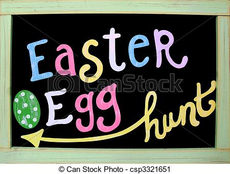 Easter egg hunt sign clipart graphic freeuse download Egg hunt clipart free - ClipartFest graphic freeuse download