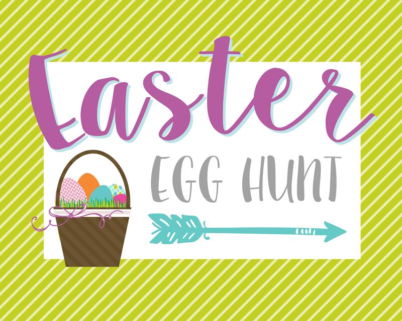 Easter Egg Hunt Sign Free Clip Art – Clipart Free Download image free download