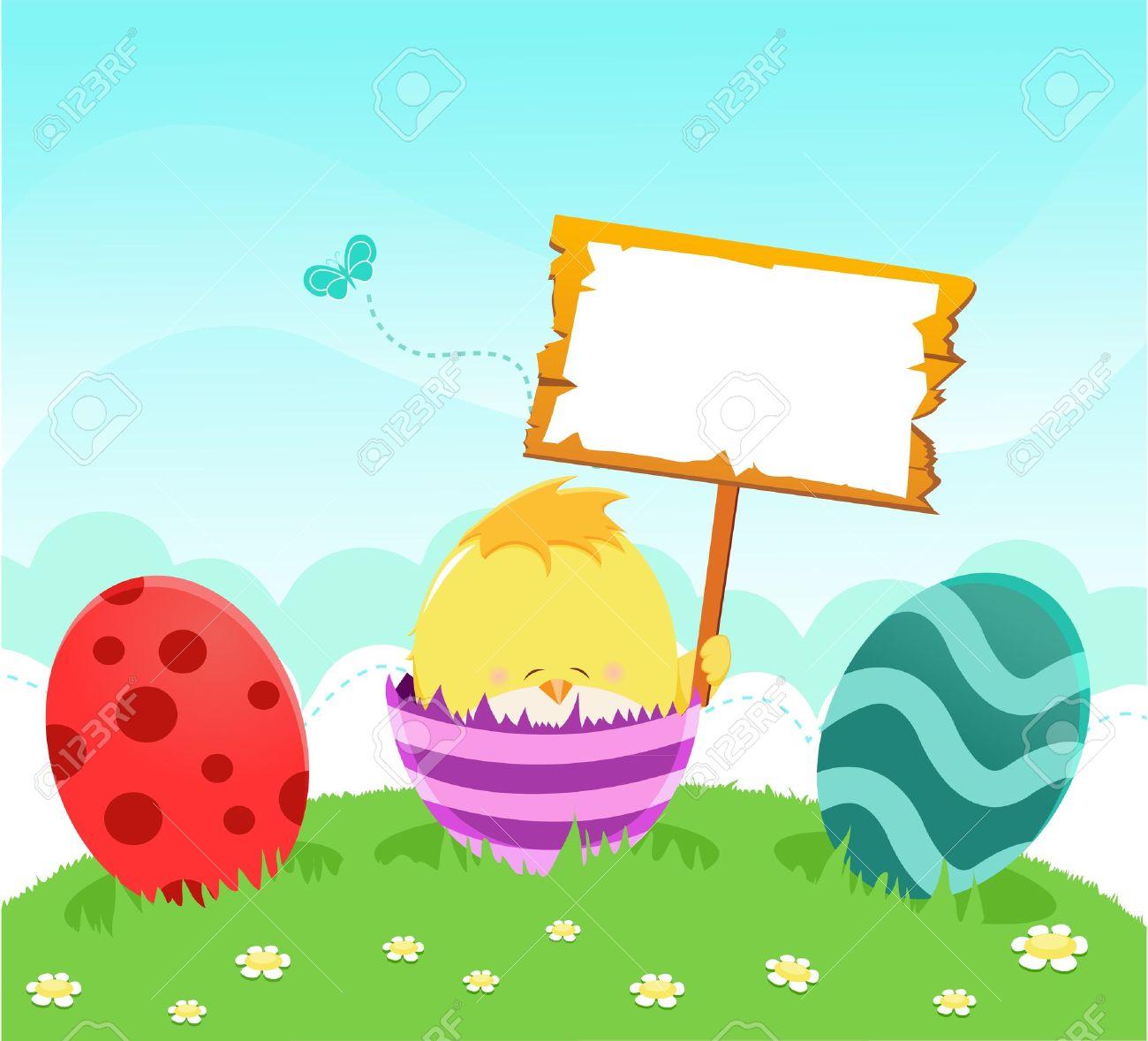 Easter egg hunt sign clipart banner freeuse Easter Egg Hunt Clipart Photo Album - Reikian banner freeuse