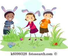 Easter egg hunt Clip Art and Stock Illustrations. 1,228 easter egg ... png library