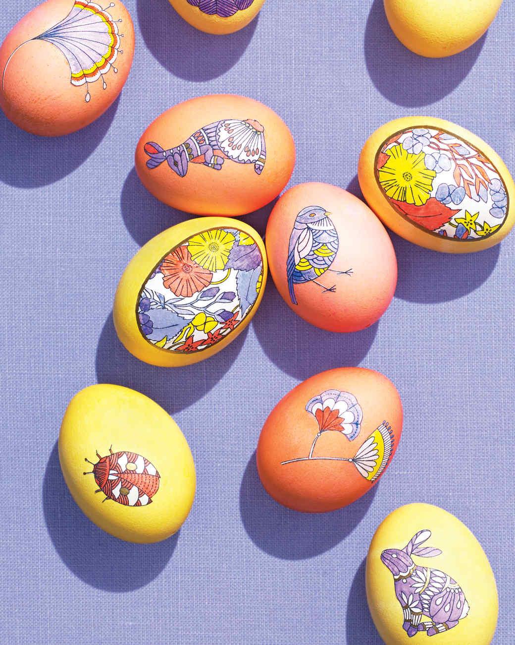 Easter Egg Clip-Art Templates   Martha Stewart image freeuse stock