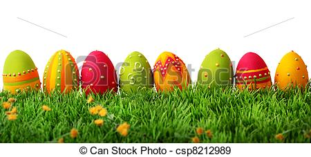 Easter egg row clipart picture transparent download Easter eggs Stock Photo Images. 158,455 Easter eggs royalty free ... picture transparent download