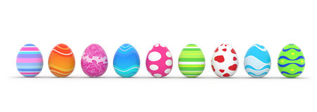 Easter egg row clipart svg free Colorful Easter Eggs Row Stock Photos, Images, & Pictures - 3,072 ... svg free
