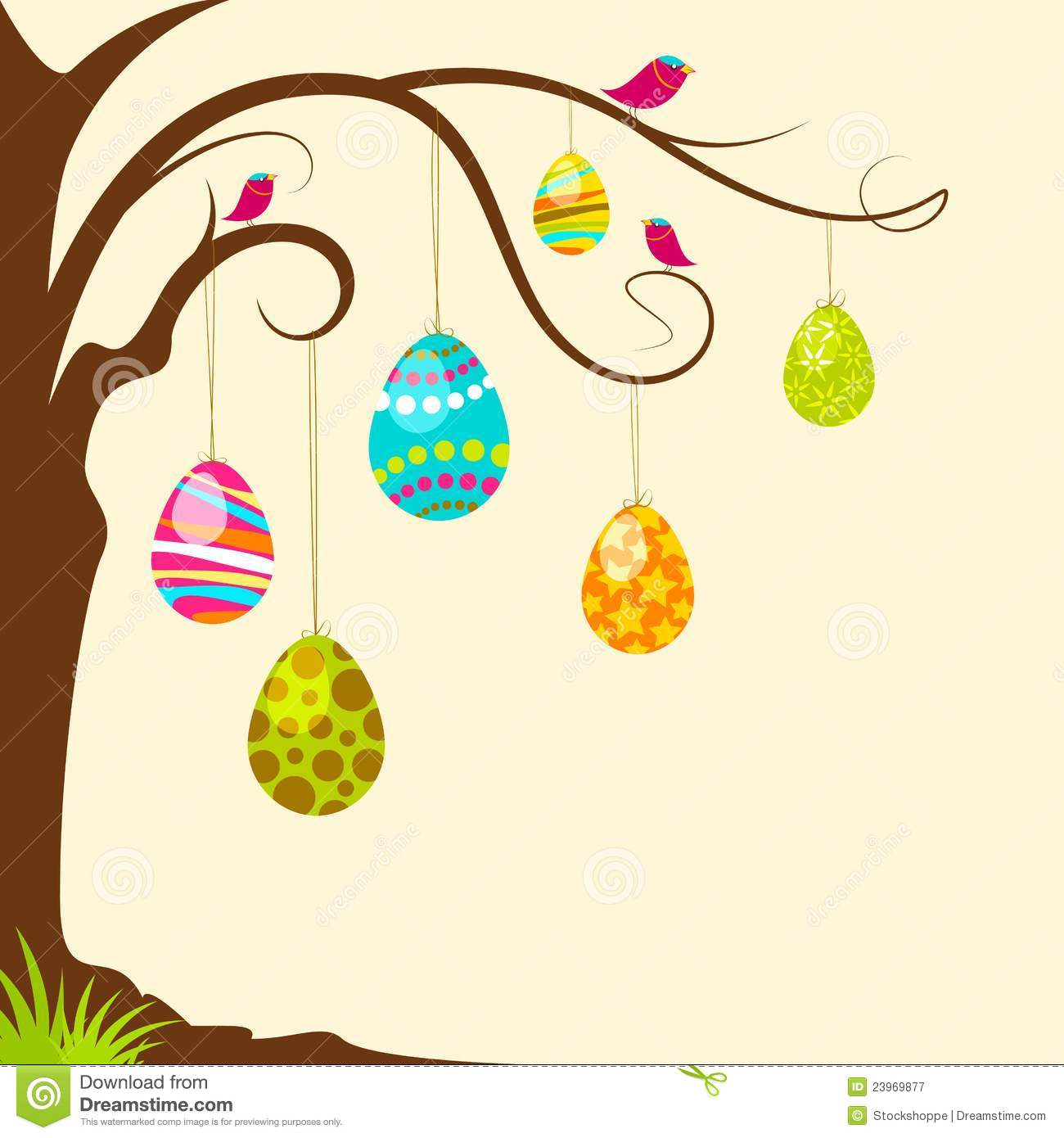 Easter egg tree clipart svg Easter Tree Clipart - Clipart Kid svg