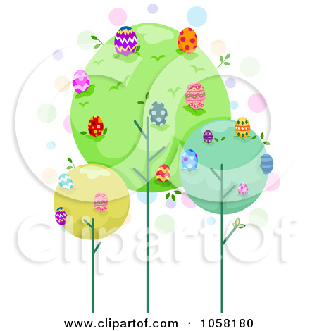 Easter egg tree clipart clip royalty free library Royalty-Free (RF) Easter Egg Tree Clipart, Illustrations, Vector ... clip royalty free library