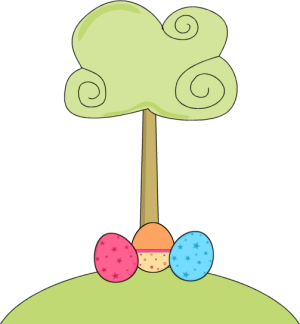 Easter egg tree clipart banner library library Easter egg tree clipart - ClipartFest banner library library