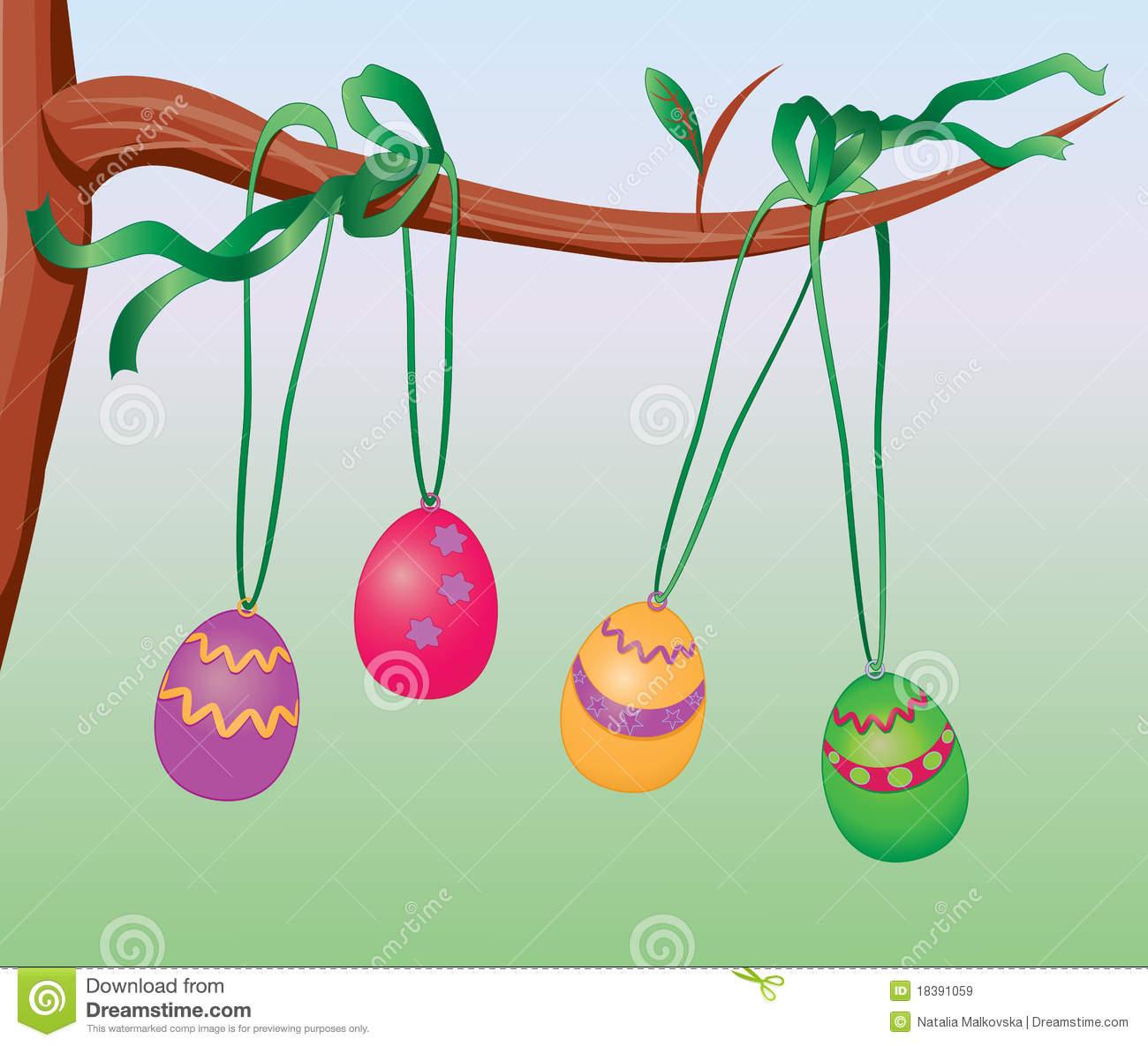 Easter egg tree clipart clip art transparent Easter egg tree clipart - ClipartFest clip art transparent