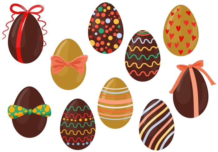 Easter egg vector clipart clipart stock Free Chocolate Eggs Vectors - Download Free Vector Art, Stock ... clipart stock