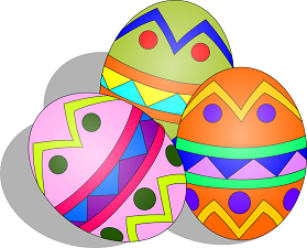 Easter egg vector clipart picture royalty free stock Children\'s Easter Egg Hunt on the Square picture royalty free stock