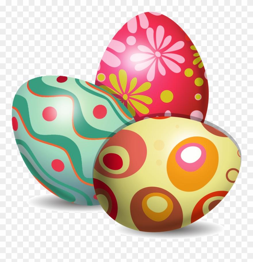 Easter egg vector clipart royalty free Easter Bunny Easter Egg Euclidean Vector Egg Decorating - Easter ... royalty free