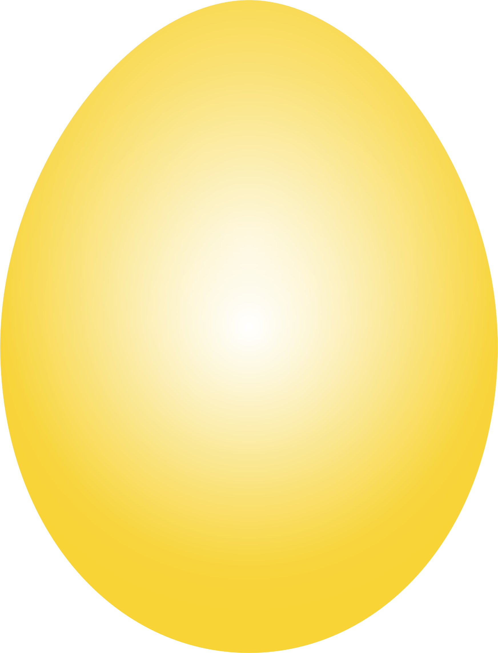 Easter egg yolk clipart free Yellow easter egg clipart png - ClipartFest free