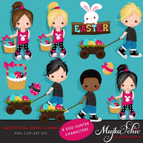 Easter eggs hunt clipart clip art transparent Easter Egg Hunt Clipart clip art transparent