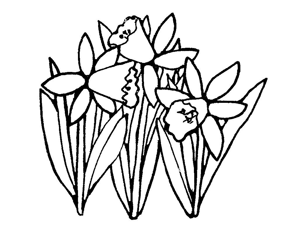 Easter flower border black and white clipart vector black and white stock Flower Borders Black And White | Free download best Flower Borders ... vector black and white stock