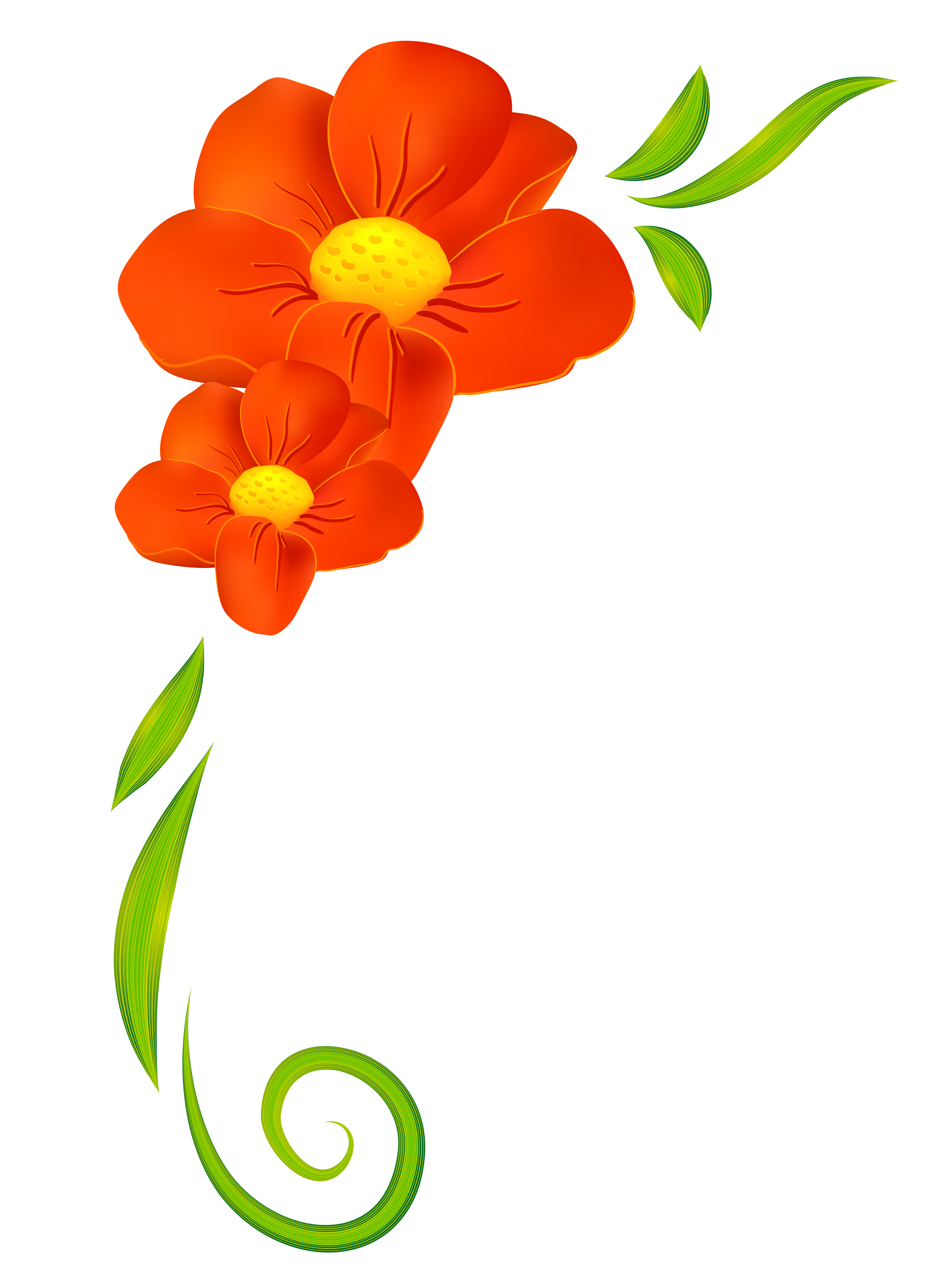 Flower clipart orange clip art free Image result for clipart spring flowers | FLOWERS | Pinterest | Hd ... clip art free