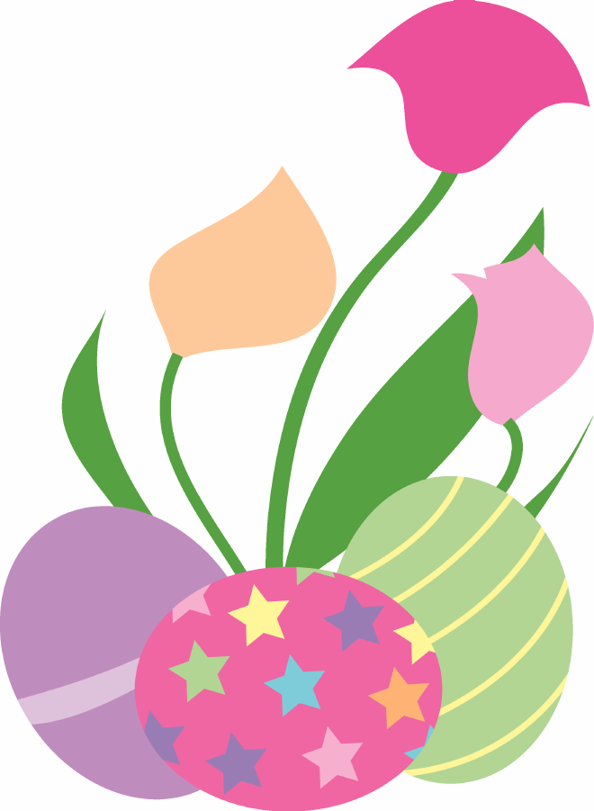 Easter flower clipart png picture transparent stock Png easter clipart free - ClipartFest picture transparent stock