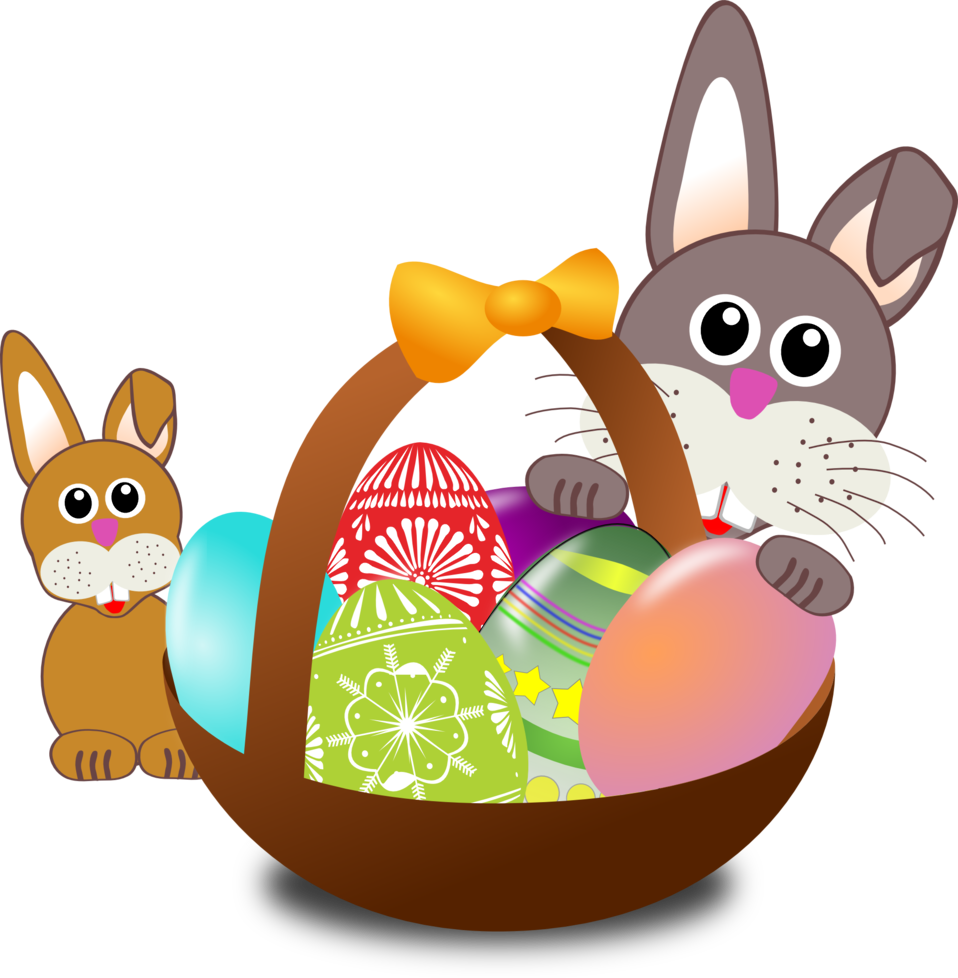 Easter hunt clipart vector black and white download Deana Nerton vector black and white download