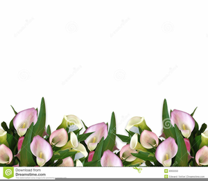 Easter lily border clipart free banner library library Easter Lily Border Clipart | Free Images at Clker.com - vector clip ... banner library library