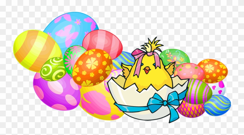 Easter party clipart graphic royalty free download Party Clipart Easter - Transparent Clipart Of Easter Chicks, HD Png ... graphic royalty free download