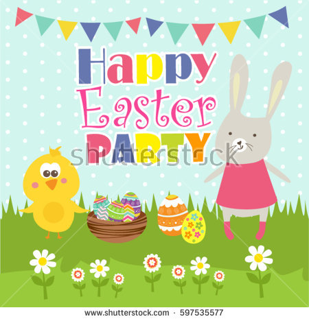 Easter party clipart image library Easter Party Clip Art – HD Easter Images image library