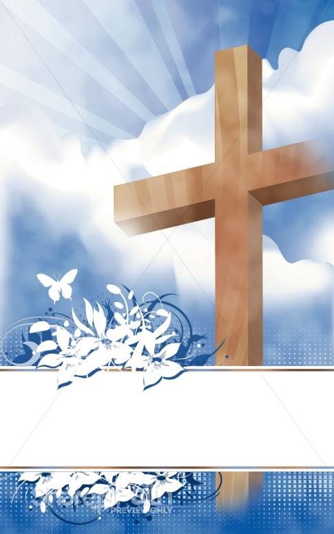 Easter program clipart royalty free download Easter Program Cover | Cross Bulletin Covers royalty free download