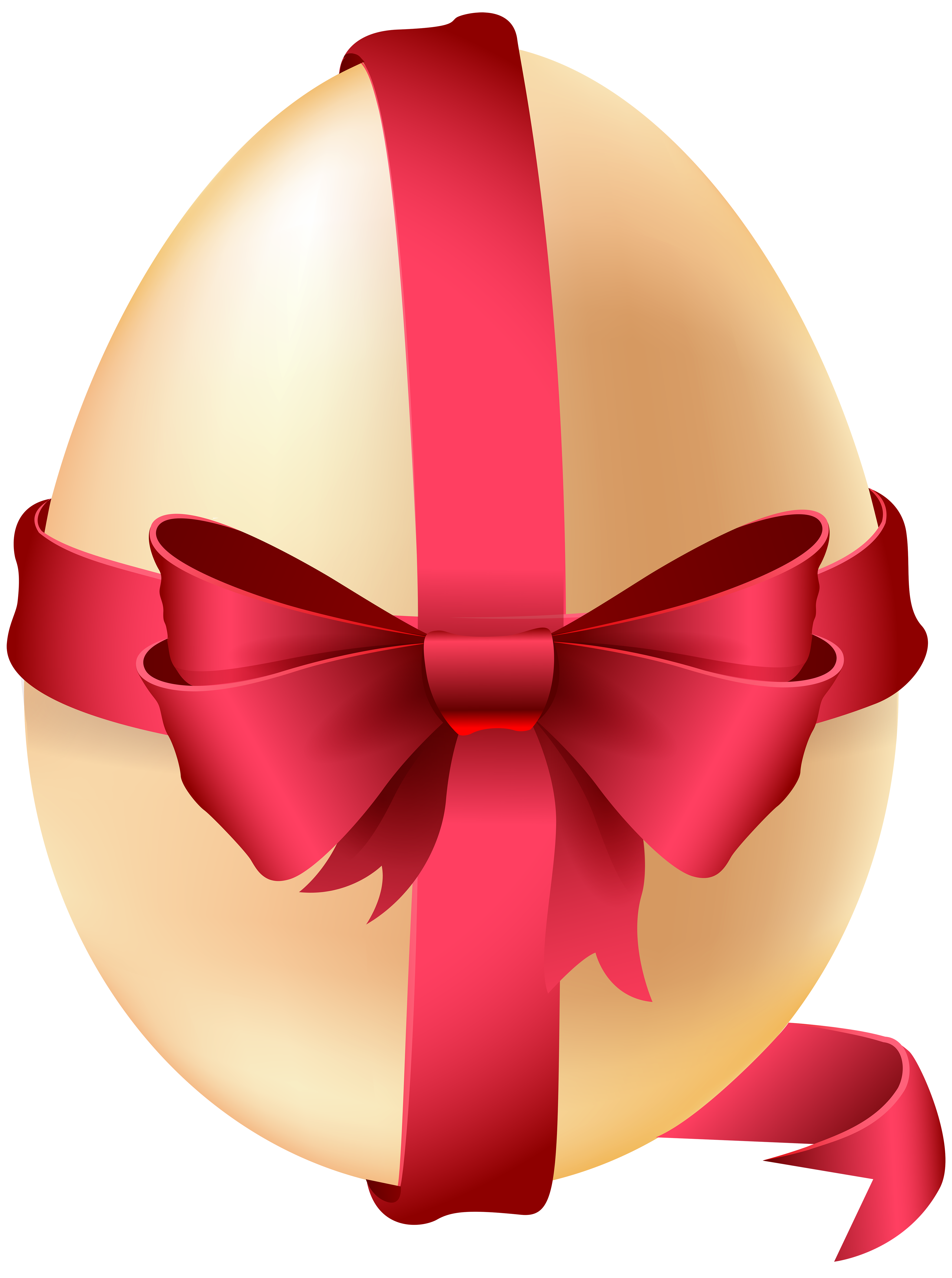 Easter ribbon clipart clipart free download Easter Egg with Red Bow PNG Clip Art Image | Gallery Yopriceville ... clipart free download