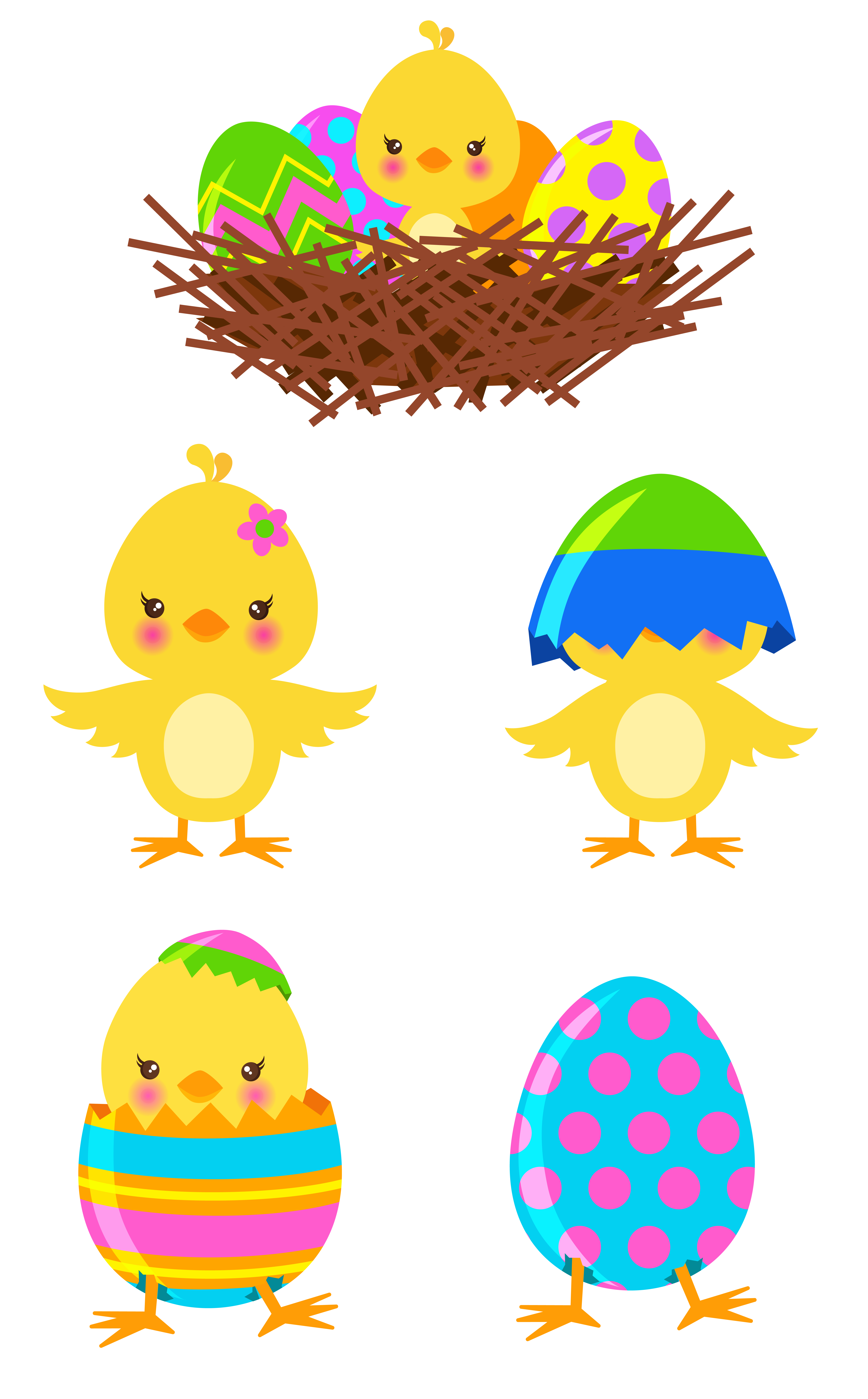 Easter row clipart picture freeuse Images of Easter Chicks - Weddings Center picture freeuse