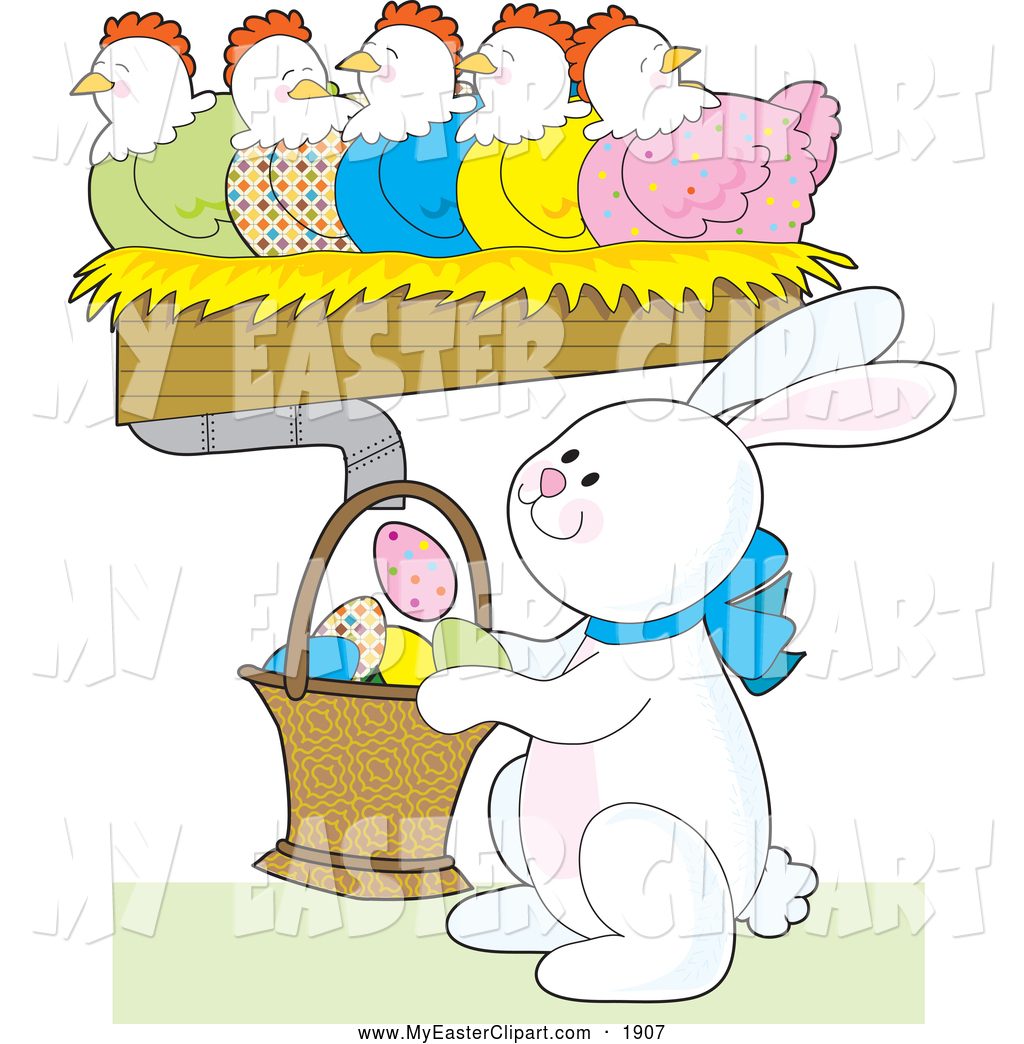 Easter row clipart clip art free stock Easter clip art free stock