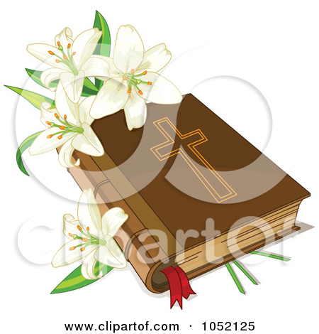 Easter row lilies clipart image black and white stock Royalty-Free (RF) Easter Clipart, Illustrations, Vector Graphics #1 image black and white stock