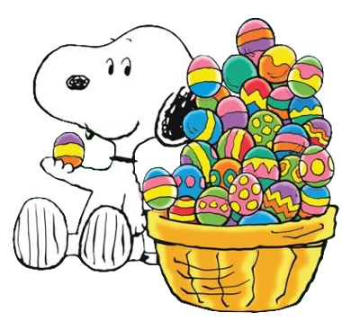Easter snoopy clipart graphic freeuse download Snoopy Easter Cliparts - Cliparts Zone graphic freeuse download
