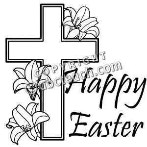 Easter sunday black and white clipart religious picture transparent download Religious Easter Clipart Black And White – HD Easter Images picture transparent download