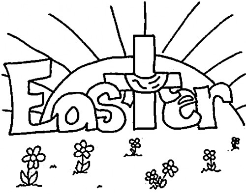 Easter sunday black and white clipart religious svg royalty free download Easter Clipart Black And White – HD Easter Images svg royalty free download
