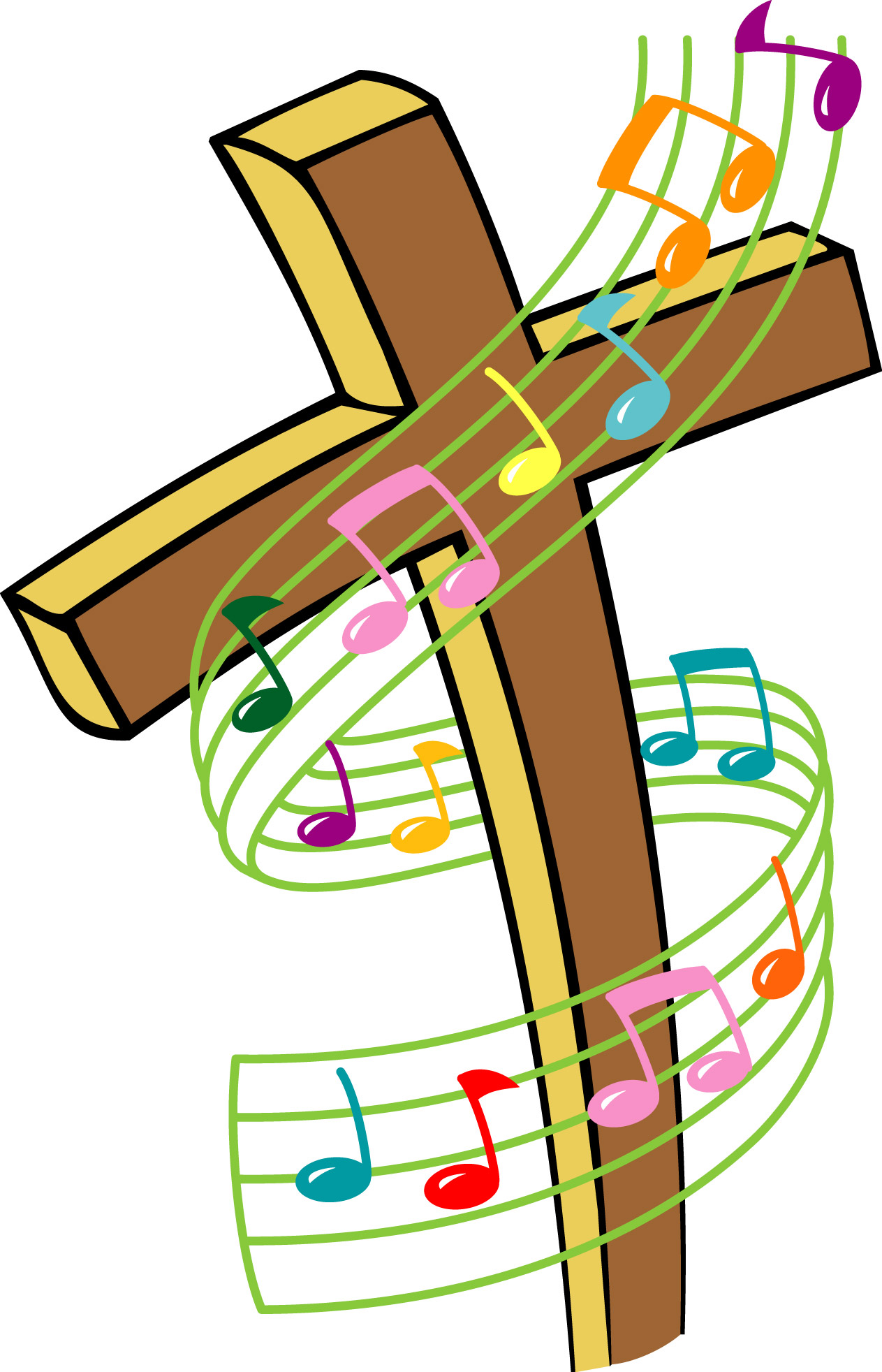 Easter worship with us clipart jpg library Easter choir clipart - ClipartFest jpg library