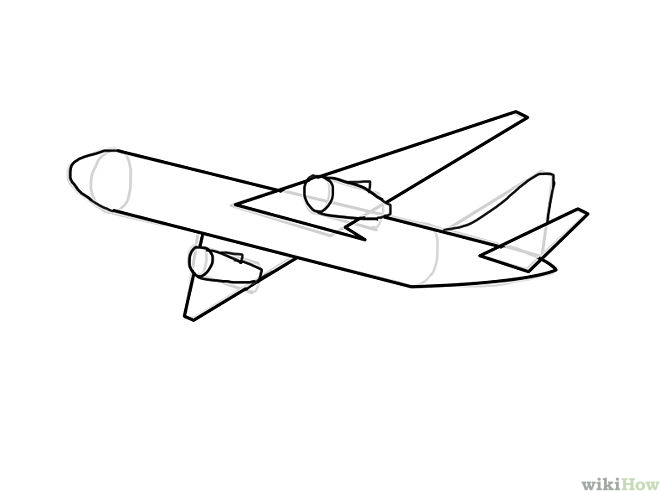 Easy plane clipart vector free Plane Drawing | Free Download Clip Art | Free Clip Art | on ... vector free