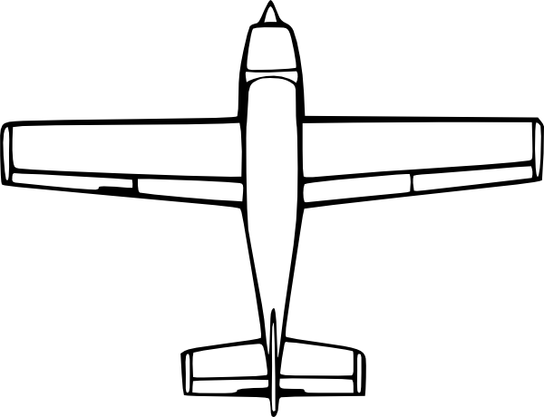 Easy plane clipart png free stock Easy To Draw Airplane - ClipArt Best png free stock