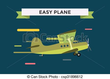 Easy plane clipart clip art stock Vector Clip Art of Civil aviation travel small easy passenger air ... clip art stock