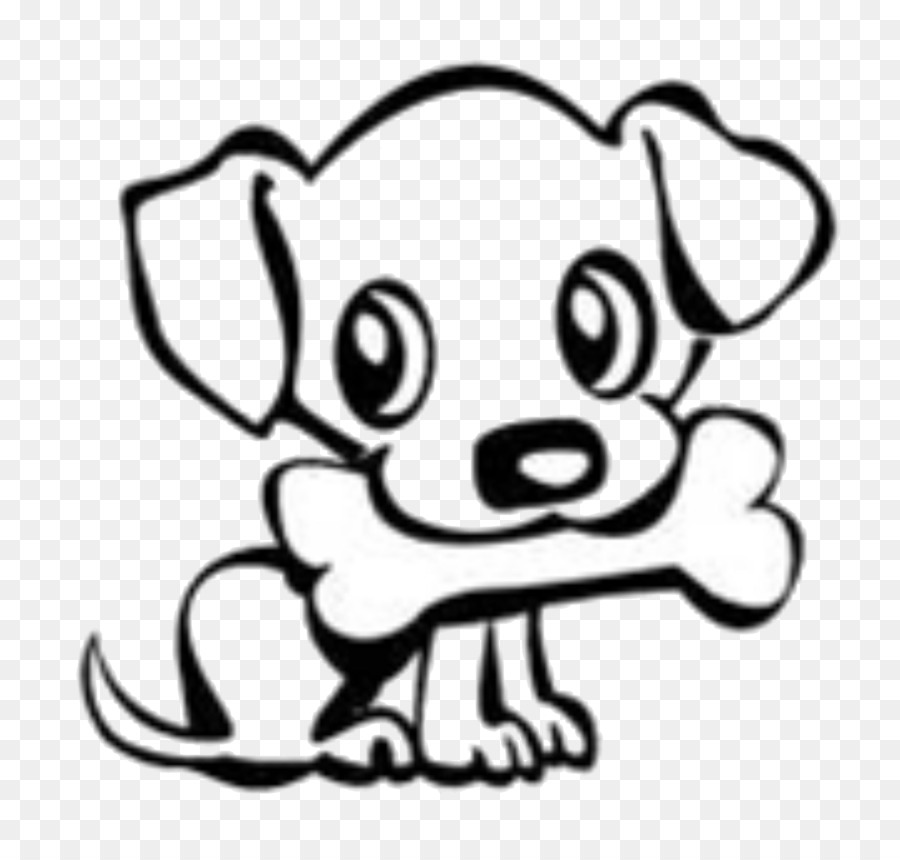 Puppy drawing clipart