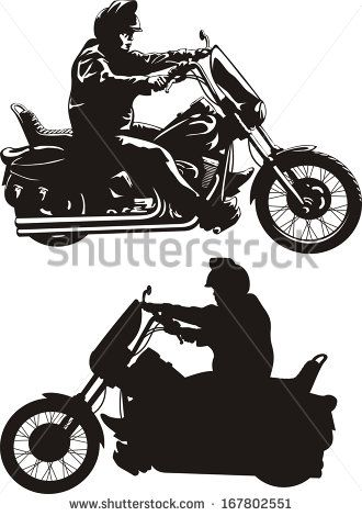 Easy rider clipart clip art royalty free download easy rider - man riding a bike - stock vector   CLIPART - my vector ... clip art royalty free download