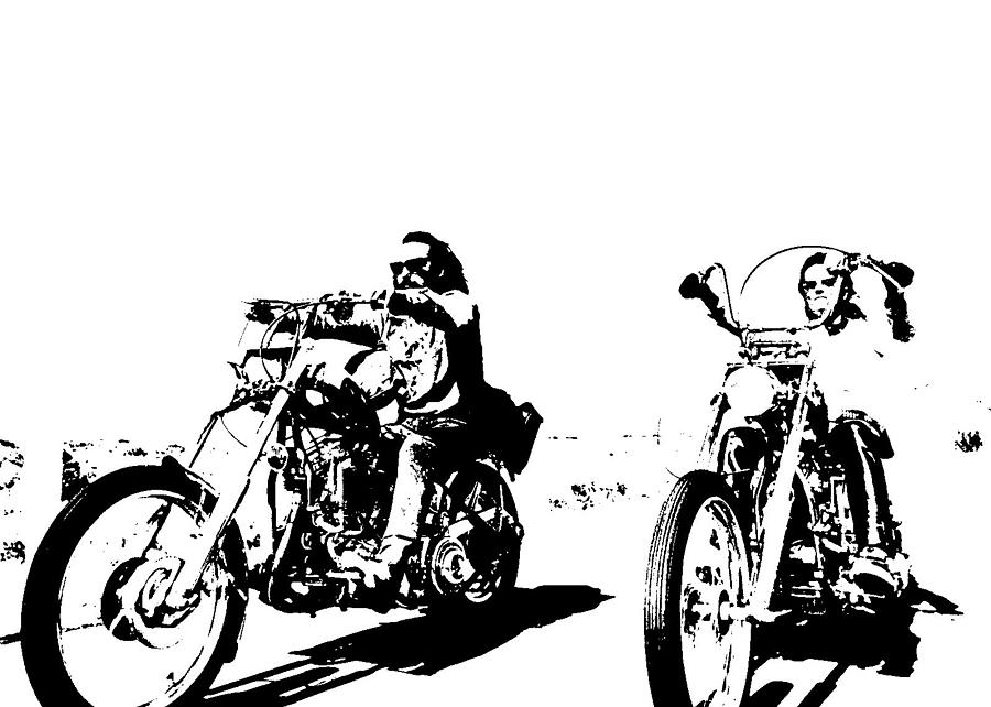 Easy rider clipart clip freeuse download Easy Rider by Paul Scotland clip freeuse download
