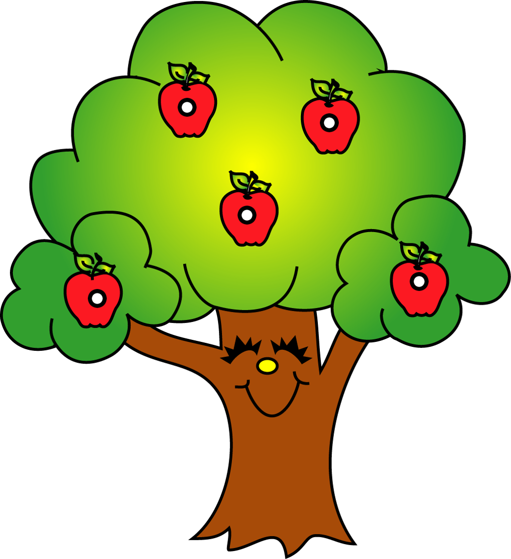 Easy simple apple tree clipart png transparent download Way Up High in an Apple Tree - Apple Song for Kids - Chil... - ThingLink png transparent download