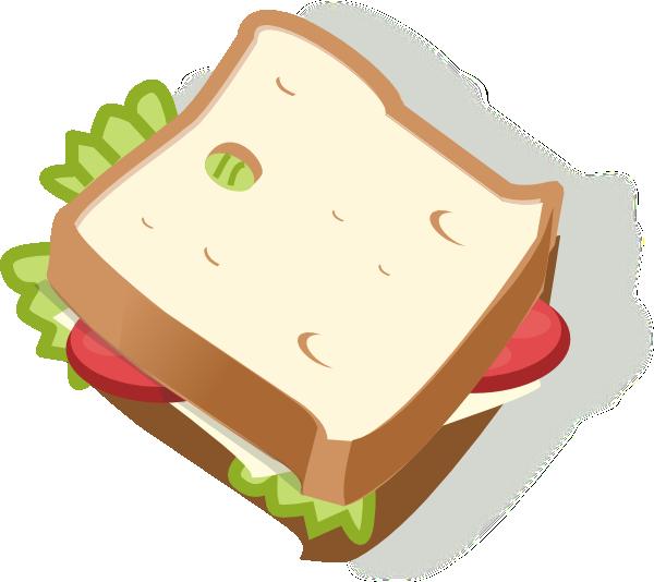 Turkey sandwich clipart jpg library library Vegetarian Sandwich Clip Art at Clker.com - vector clip art online ... jpg library library