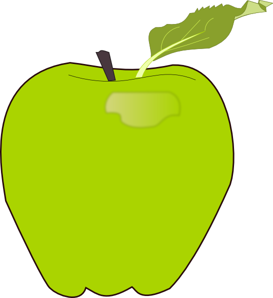 Eaten apple clipart svg freeuse library Apple Clip Art at Clker.com - vector clip art online, royalty free ... svg freeuse library