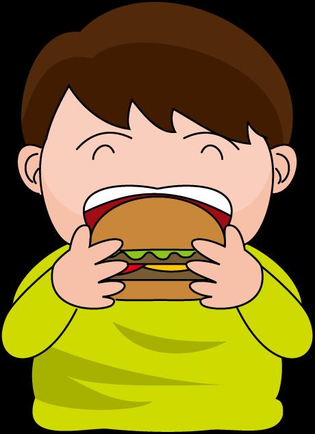 Eating hamburger clipart vector Eating Hamburger Cliparts - Cliparts Zone vector
