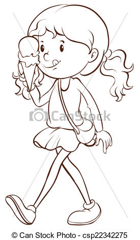 Eating ice cream clipart black and white download Eating ice cream clipart black and white 1 » Clipart Station download