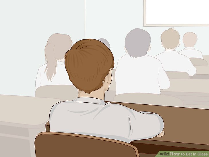 Eating in class clipart graphic transparent stock How to Eat In Class (with Pictures) - wikiHow graphic transparent stock