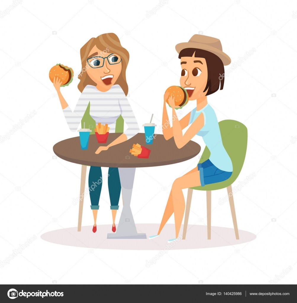 Eating lunch with friends clipart graphic freeuse Eating lunch with friends clipart 3 » Clipart Portal graphic freeuse