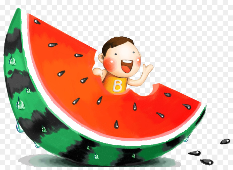 Eating watermelon clipart banner black and white download Summer Eating png download - 913*656 - Free Transparent Watermelon ... banner black and white download