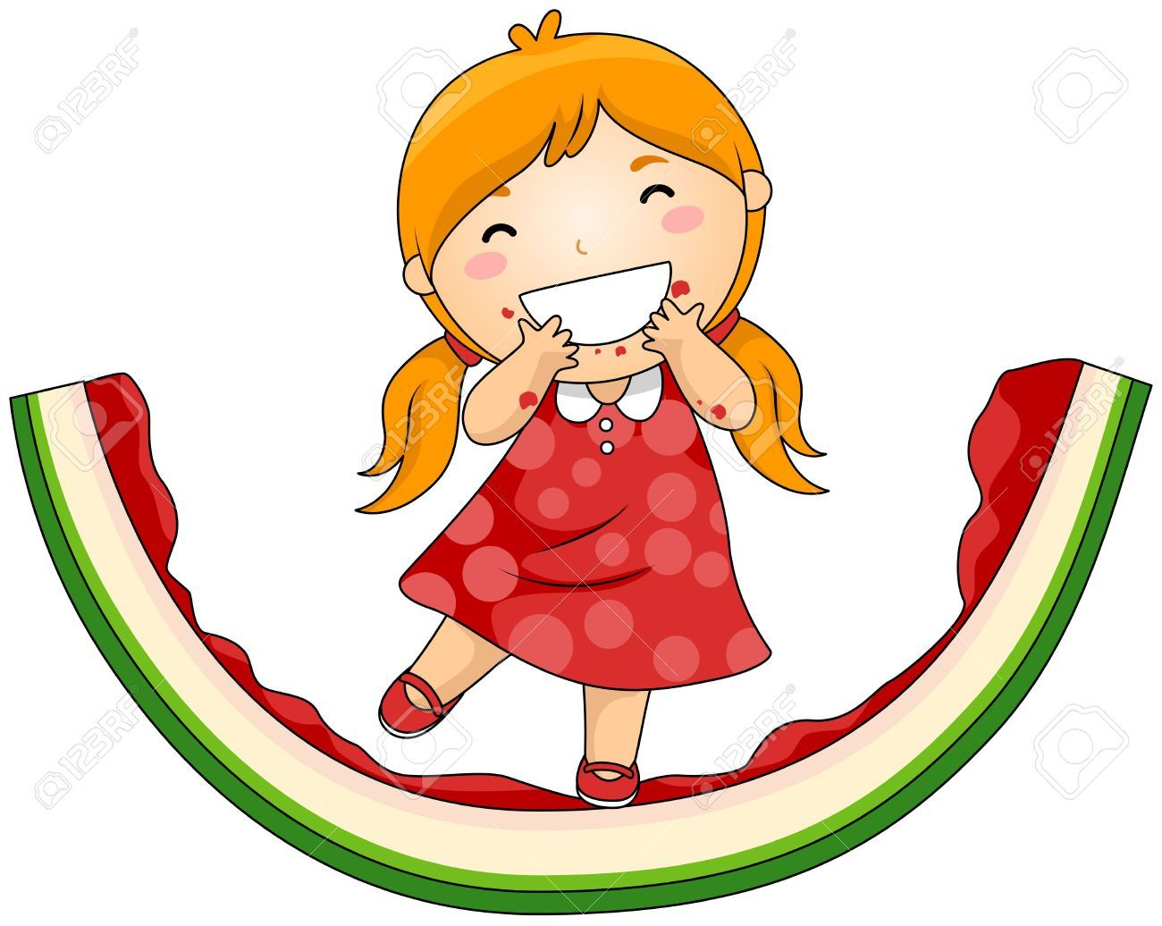 Eating watermelon clipart svg transparent download Eating watermelon clipart 9 » Clipart Portal svg transparent download