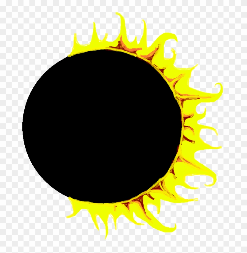 Total eclipse clipart clipart transparent stock Solar Eclipse Clipart At Getdrawings - Sunflower, HD Png Download ... clipart transparent stock